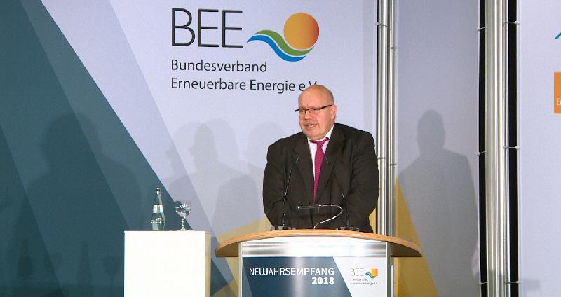 Setzt Wirtschaftsminister in spe Peter Altmaier auf Nachhaltigkeit?