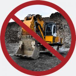 Bergbaugroßprojekte initiieren oder unterstützen